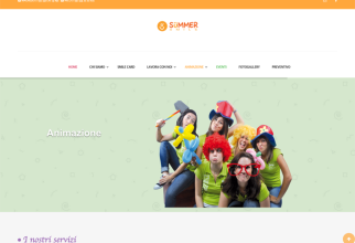 Restyling sito web Summersmile